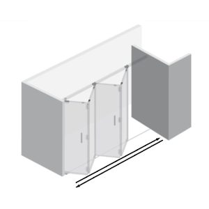 4 Panel with 2 Lock Kit