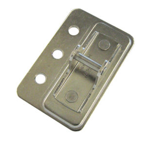 Face-frame door mounting plate