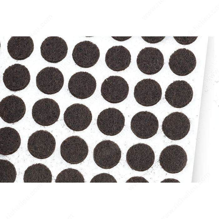kitchen cabinet felt door pads heavy duty self adhesive felt pads 3 8 quot rounds 1000 18748