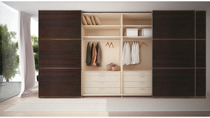 Ps10 By P Sliding System For 4 Large Cabinet Doors