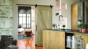 Rustic Barn Door Hardware For Interior Sliding Doors