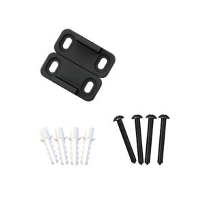 Black Plastic Guide for Wood Door