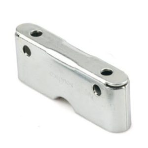 Concealed Butt-Joint Panel Fastening Receptacle for Mortise or Side Mount Installation