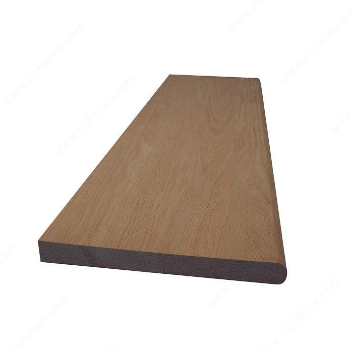marches standard avec nez arrondi l 39 avant 10 1 2 po x. Black Bedroom Furniture Sets. Home Design Ideas