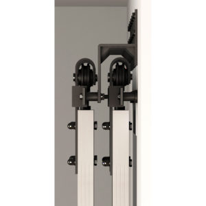 Wall Mount Bracket for Barn Door Flat Bar Tracks
