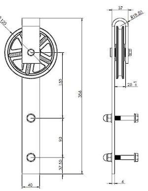 The Ferris Wheel Kit Richelieu Hardware
