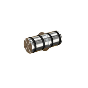 Rail connector - Stainless Steel, Satin Finish