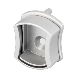 Matte Chrome Concave Support