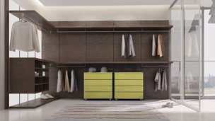Create customized closets with individual needs in mind