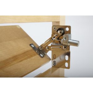 Hinge with Damper for Tip-Out Tray