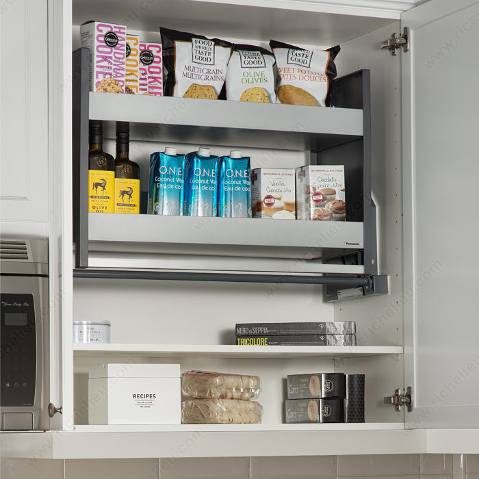 Kitchen Cabinet System: Soft-Down Cabinet System