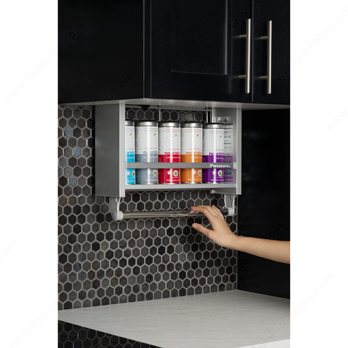 Kitchen Cabinet Pull Down Shelves: Pull-down Cabinet System