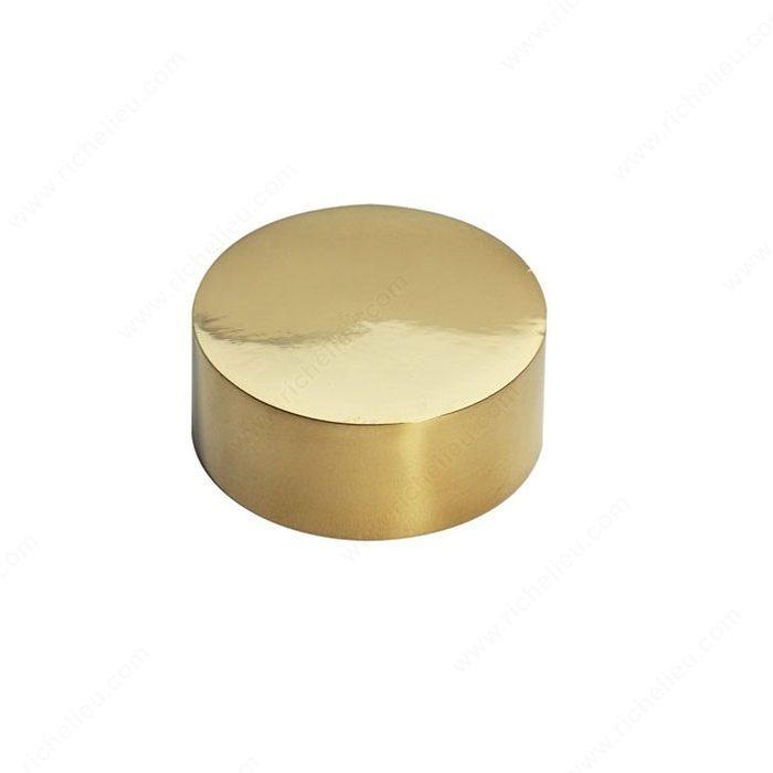 Surface end cap for wood handrail richelieu hardware