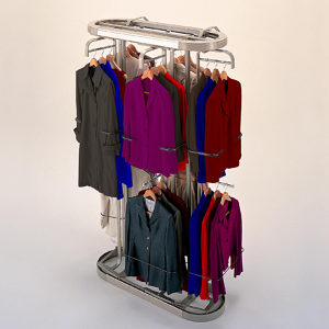Small Revolving Closet System