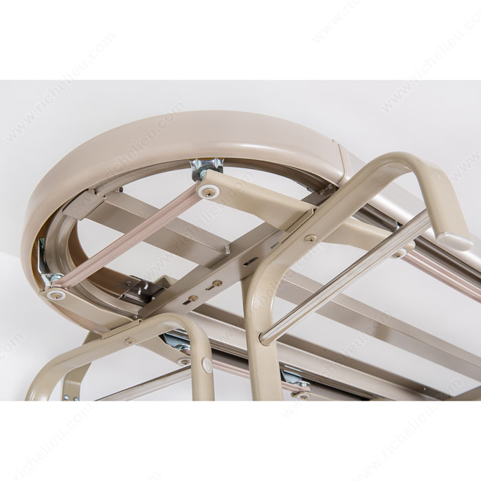 product revolving roll heels oranizer n the head rack closet a compressed