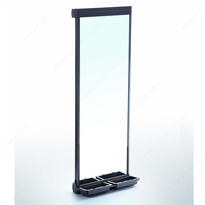 Miroir coulissant et pivotant kamo quincaillerie richelieu for Miroir 150 projector