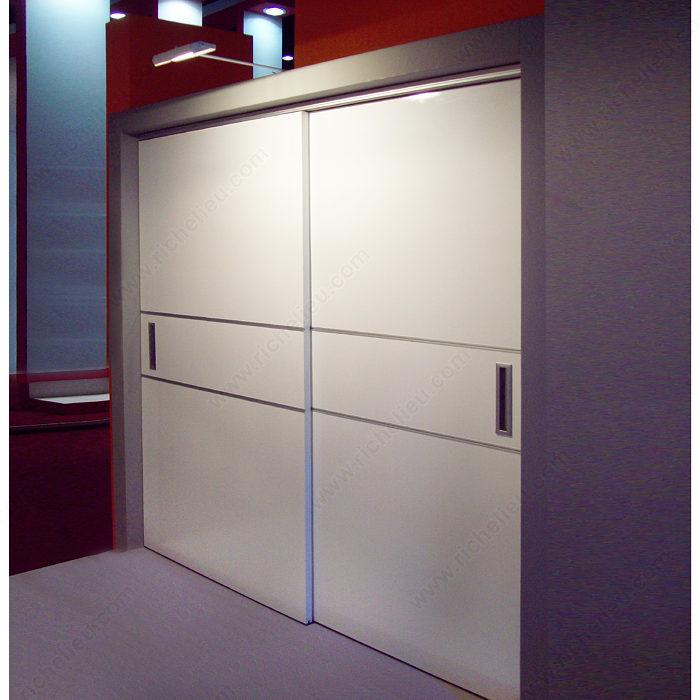 Dn50 Clip Closet Kit For Top Hung Bypass Doors Richelieu Hardware