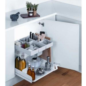 Pull-out system for base cabinet KITO