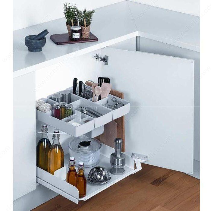 syst me de rangement coulissant kito quincaillerie richelieu. Black Bedroom Furniture Sets. Home Design Ideas