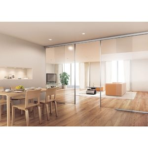 EKU-Porta 100 G Sliding Door Wall or Ceiling Mount Installation