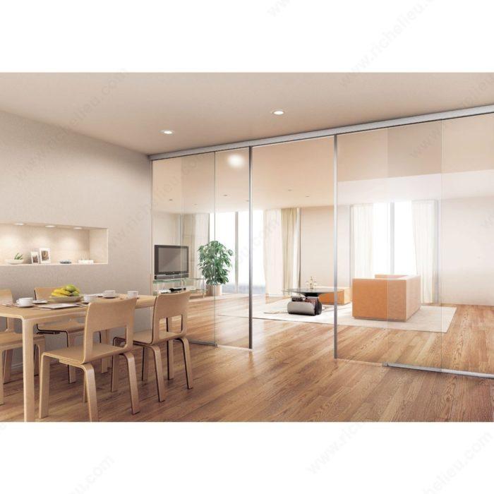 eku porta 100 g pour l 39 installation d 39 une porte coulissante au mur ou au plafond. Black Bedroom Furniture Sets. Home Design Ideas