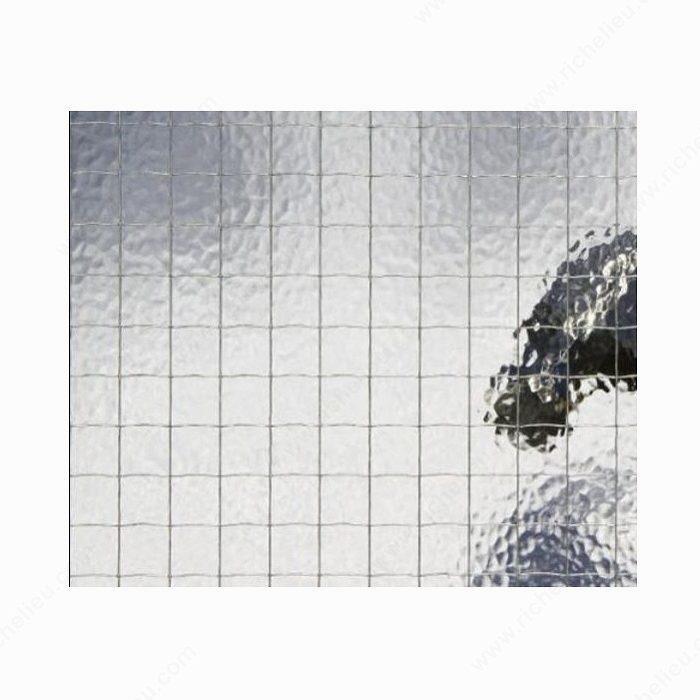 Placa de vidrio de alambre fundido tipo georgiano - Richelieu Hardware