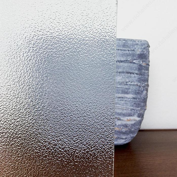 Pinhead Textured Glass Richelieu Hardware