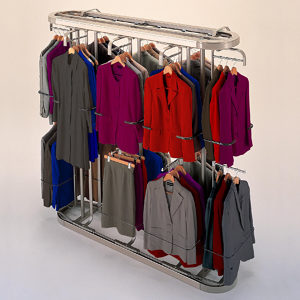 Gentil Large Revolving Closet System