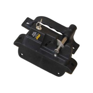 Polymer Gate Locking Latch - 1 Sided