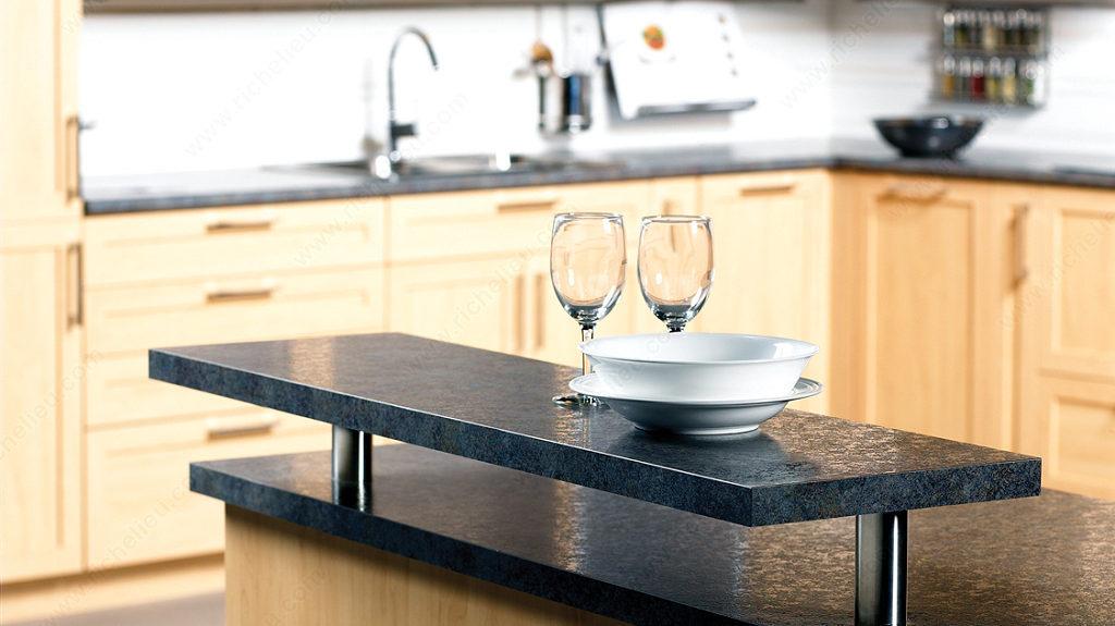 support pour console de bar quincaillerie richelieu. Black Bedroom Furniture Sets. Home Design Ideas