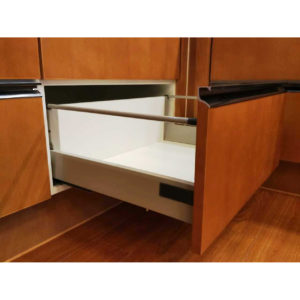 "Standard 908 Drawer Sets with 199 mm (7 26/32"") Height and Gallery Rod"