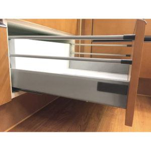 "Standard 908 Drawer Sets with 199 mm (7 26/32"") Height and Two Gallery Rods"