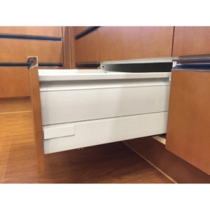 Standard 908 Drawer Sets with 199 mm Height and Side Panels