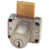 "Deadbolt Drawer Lock 7/8"" and 1-3/8"""