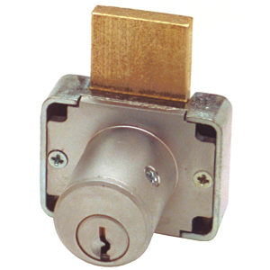 Deadbolt Drawer Lock 7/8
