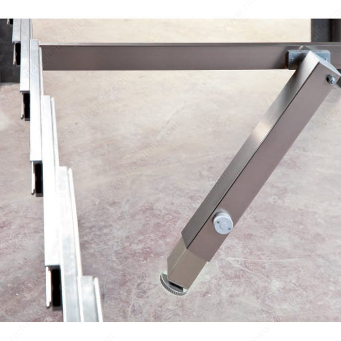 Beau SURPRISE   Table Extension Mechanism With Central Telescopic Leg