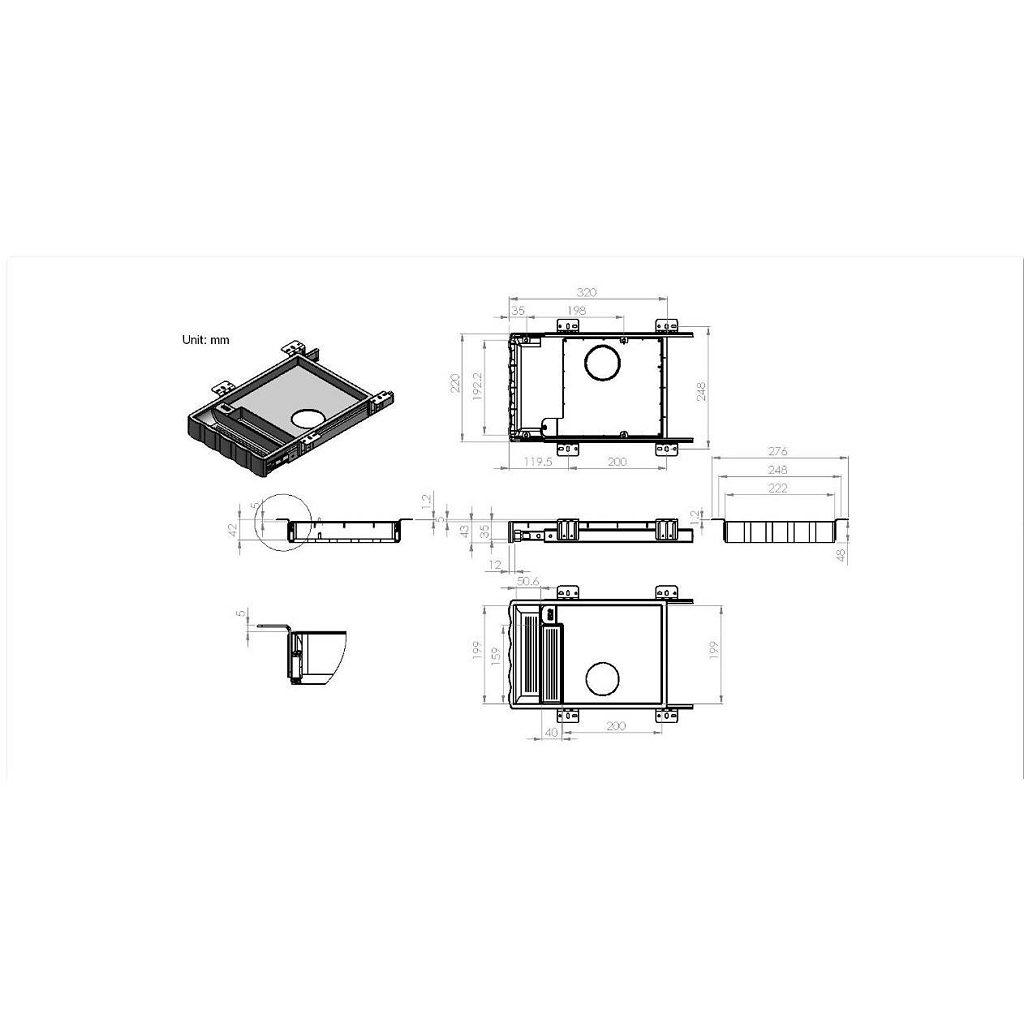 Wireless Drawer Charger 718813090 Richelieu Hardware