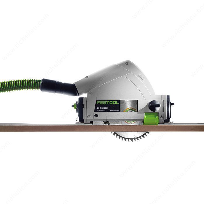 scie plongeante avec rail de guidage ts 55 req quincaillerie richelieu. Black Bedroom Furniture Sets. Home Design Ideas