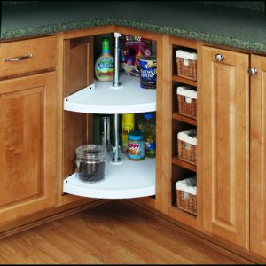 "3/4"" Pie-Cut Polymer Shelf, in Bulk"