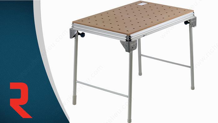 table de travail de base mft 3 quincaillerie richelieu. Black Bedroom Furniture Sets. Home Design Ideas