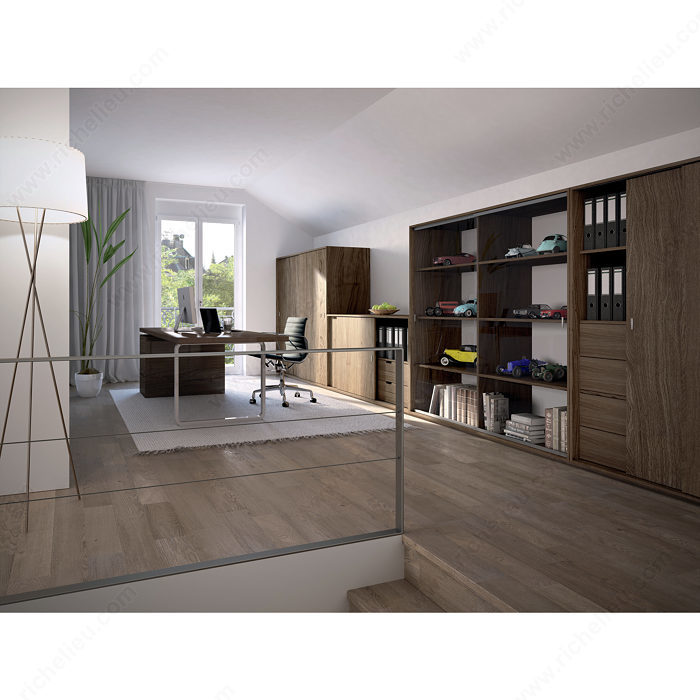 By Pass Sliding System For Glass Cabinet Doors Inset Eku Clipo 36