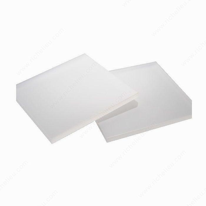 Sign White 7328 Acrylic Richelieu Hardware