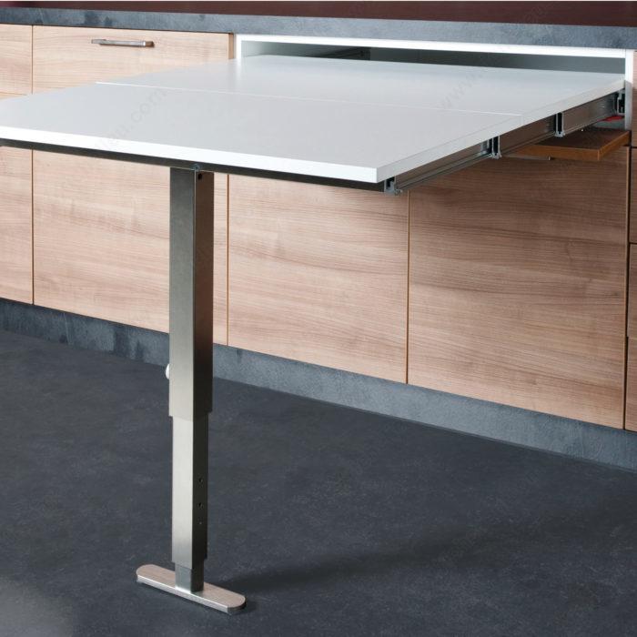m canisme pour table extensible t able s rie 4119 quincaillerie richelieu. Black Bedroom Furniture Sets. Home Design Ideas