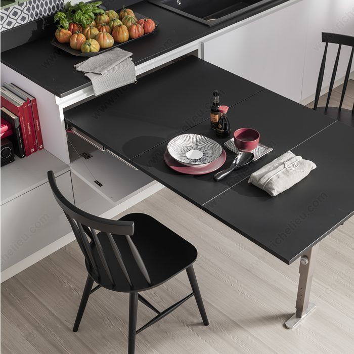 Kitchen Table Series: T-ABLE XL III Table Extension Mechanism 4119 Series