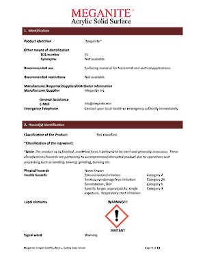 American Safety Datasheet
