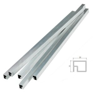 Cut-to-Size Aluminium Profile - 3 m (9.8 ft)