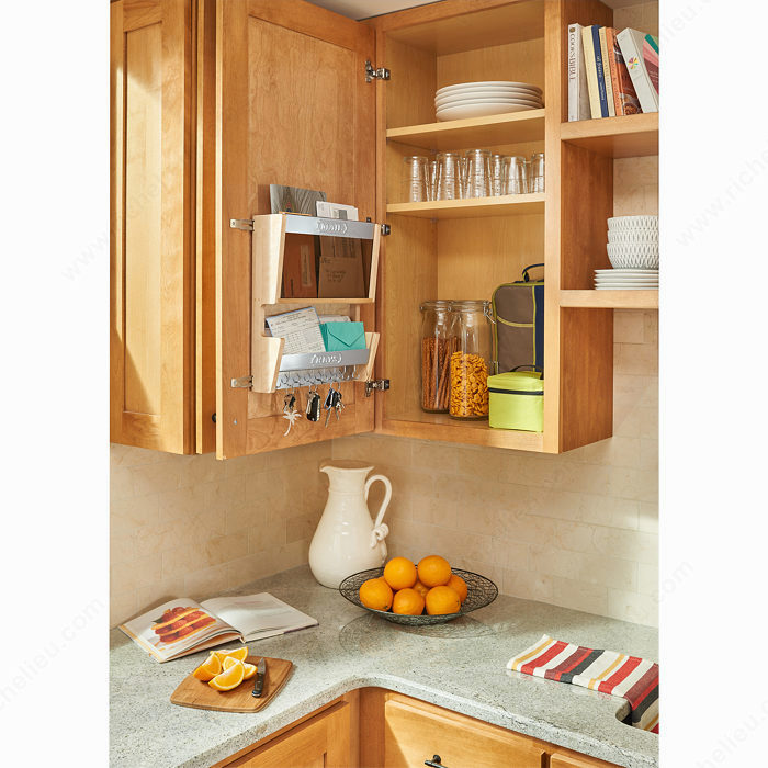 Mail Order Kitchen Cabinets: Door-Mounting Mail Cabinet