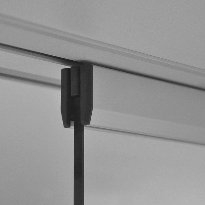 syst me coulissant pour meuble dot de portes en verre encastr es eku clipo 36 g is. Black Bedroom Furniture Sets. Home Design Ideas