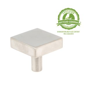Contemporary Brass Knob - 52155