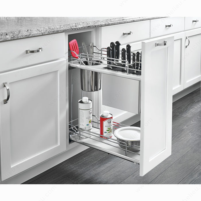 Movable Cabinet Pull Out Kitchen Cabinet Movable Cabinets: Pull-Out System For Utensils And Knives
